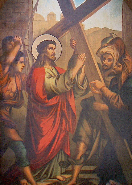 II. Jesus Accepts His Cross