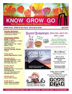April 2015 Event Flyer
